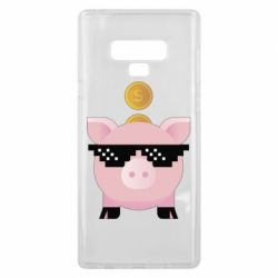 Чохол для Samsung Note 9 Piggy bank