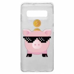 Чохол для Samsung S10+ Piggy bank