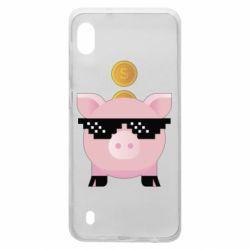 Чохол для Samsung A10 Piggy bank
