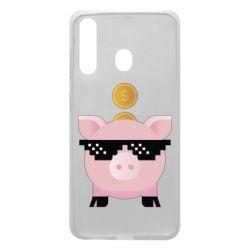 Чохол для Samsung A60 Piggy bank