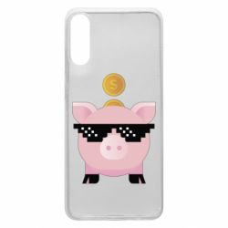 Чохол для Samsung A70 Piggy bank