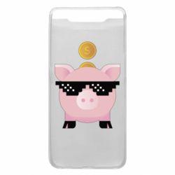Чохол для Samsung A80 Piggy bank