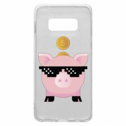 Чохол для Samsung S10e Piggy bank