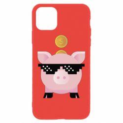 Чохол для iPhone 11 Piggy bank