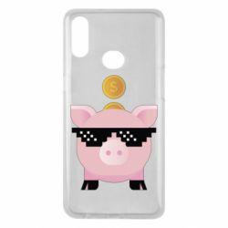 Чохол для Samsung A10s Piggy bank