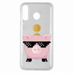 Чохол для Samsung M30 Piggy bank