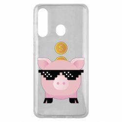 Чохол для Samsung M40 Piggy bank
