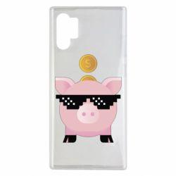 Чохол для Samsung Note 10 Plus Piggy bank