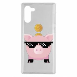 Чохол для Samsung Note 10 Piggy bank