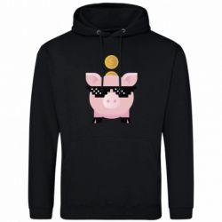 Чоловіча толстовка Piggy bank