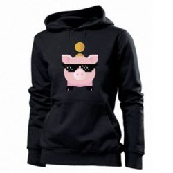 Толстовка жіноча Piggy bank