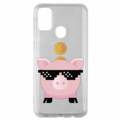 Чохол для Samsung M30s Piggy bank