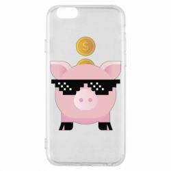 Чохол для iPhone 6/6S Piggy bank