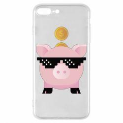 Чохол для iPhone 8 Plus Piggy bank