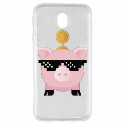 Чохол для Samsung J7 2017 Piggy bank