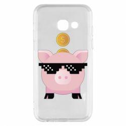 Чохол для Samsung A3 2017 Piggy bank