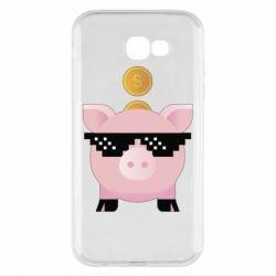 Чохол для Samsung A7 2017 Piggy bank
