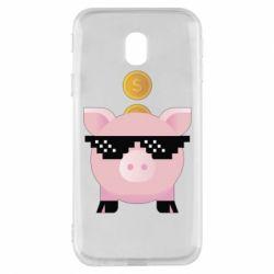 Чохол для Samsung J3 2017 Piggy bank