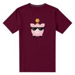 Чоловіча стрейчева футболка Piggy bank