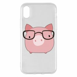 Чохол для iPhone X/Xs Piggy