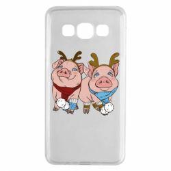 Чохол для Samsung A3 2015 Pigs