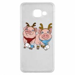 Чохол для Samsung A3 2016 Pigs