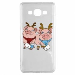 Чохол для Samsung A5 2015 Pigs