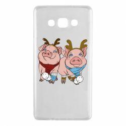 Чохол для Samsung A7 2015 Pigs