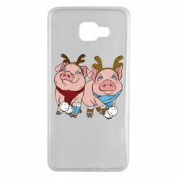 Чохол для Samsung A7 2016 Pigs