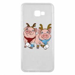 Чохол для Samsung J4 Plus 2018 Pigs