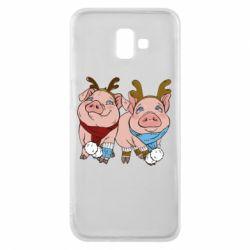 Чохол для Samsung J6 Plus 2018 Pigs