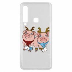 Чохол для Samsung A9 2018 Pigs