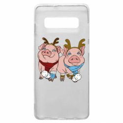 Чохол для Samsung S10+ Pigs