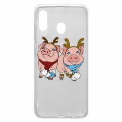 Чохол для Samsung A30 Pigs