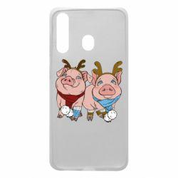 Чохол для Samsung A60 Pigs