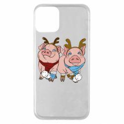 Чохол для iPhone 11 Pigs