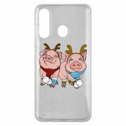 Чохол для Samsung M40 Pigs