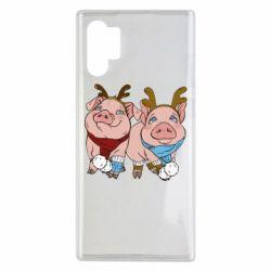 Чохол для Samsung Note 10 Plus Pigs