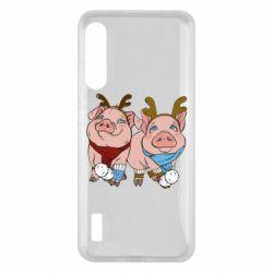 Чохол для Xiaomi Mi A3 Pigs