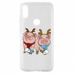Чохол для Xiaomi Mi Play Pigs