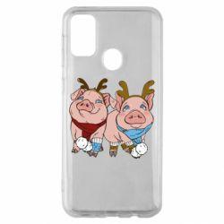 Чохол для Samsung M30s Pigs