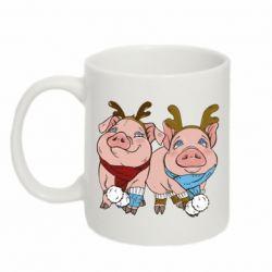 Кружка 320ml Pigs
