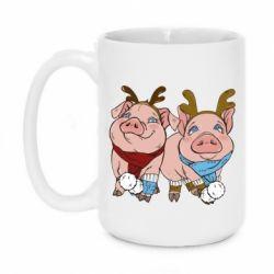 Кружка 420ml Pigs