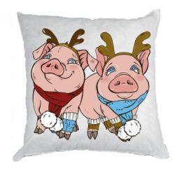 Подушка Pigs