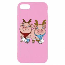 Чохол для iPhone 7 Pigs