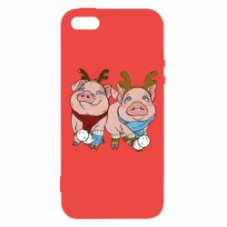 Чохол для iphone 5/5S/SE Pigs