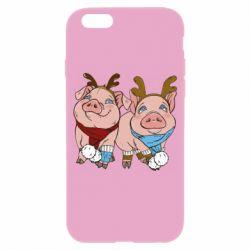 Чохол для iPhone 6/6S Pigs