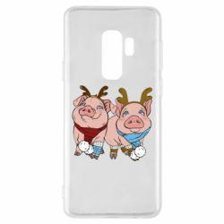 Чохол для Samsung S9+ Pigs