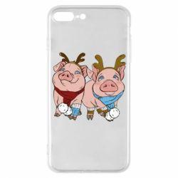 Чохол для iPhone 8 Plus Pigs