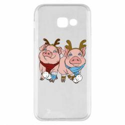 Чохол для Samsung A5 2017 Pigs